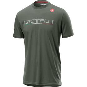 Castelli Classic T-paita Miehet, forest grey